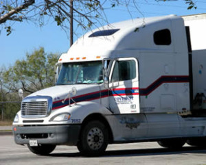 trucking company semi rig