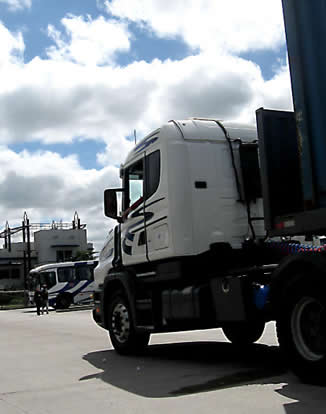 front-of-semi-truck
