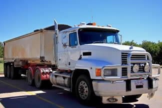 hauling-in-mack-truck