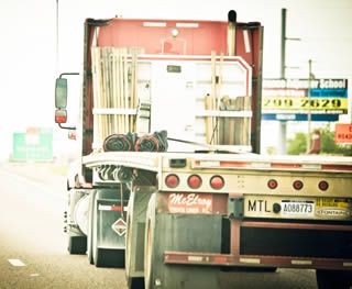 flatbed-trucking-on-highway