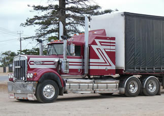red-white-big-rig