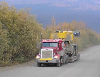 driving-truck-in-alaska